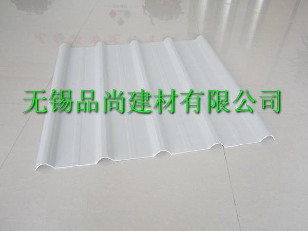 白色PVC塑钢瓦