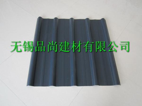 黑色PVC塑钢瓦