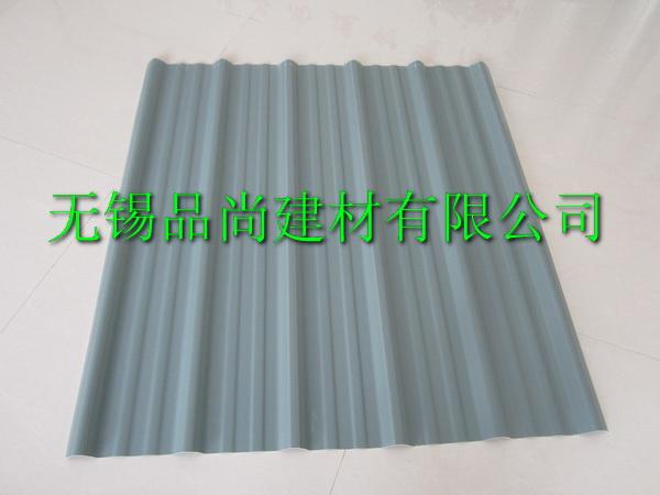 灰色PVC塑钢瓦