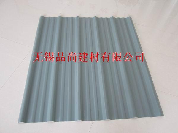 灰色PVC防腐瓦